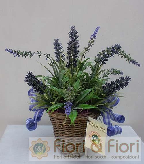 Composizione di fiori artificiali Provenza maxi: Fiori & Fiori