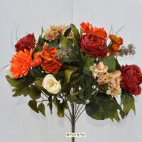 Bouquet fiori artificiali gerbera