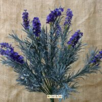 fiori artificiali lavanda