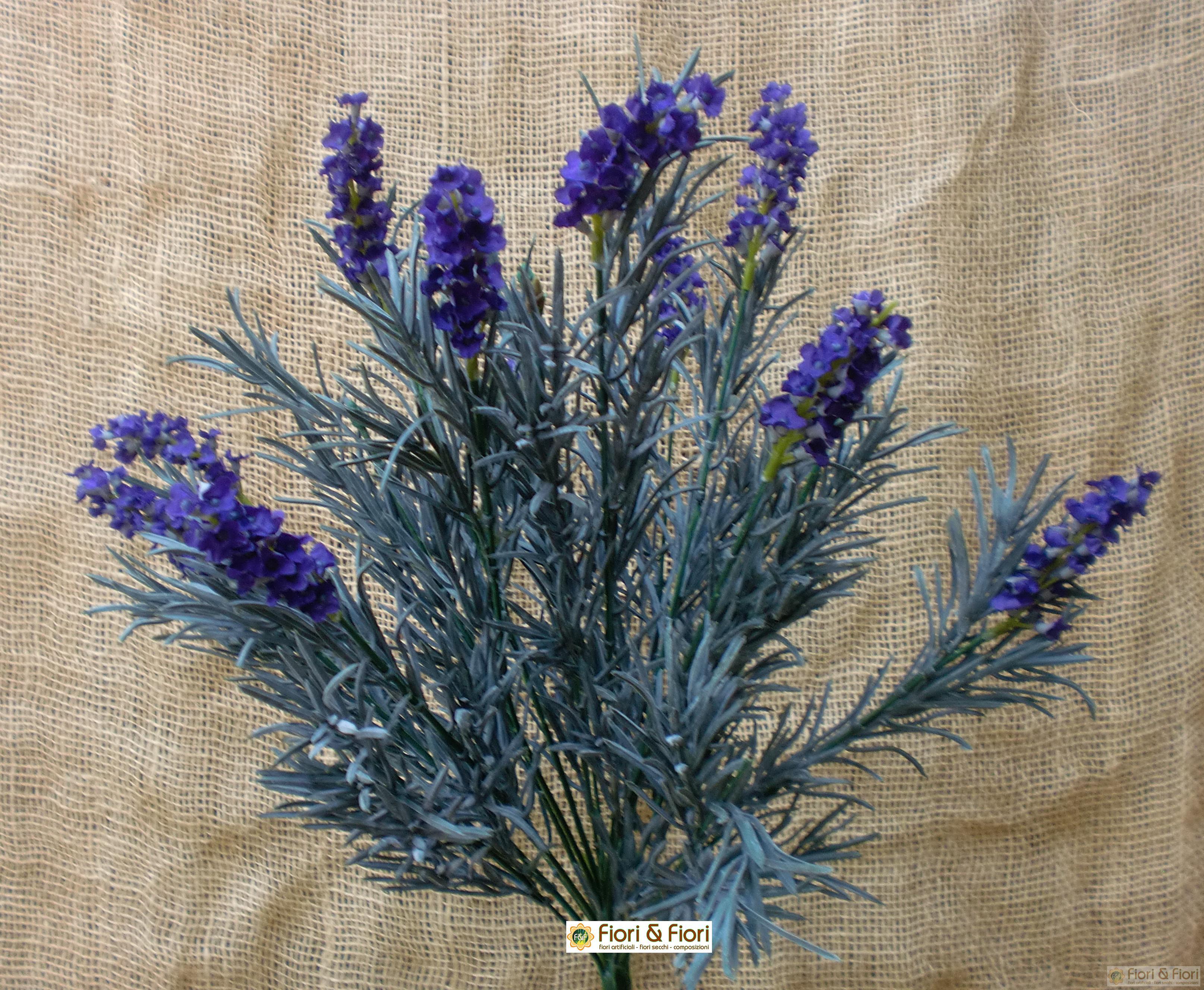 fiori artificiali lavanda