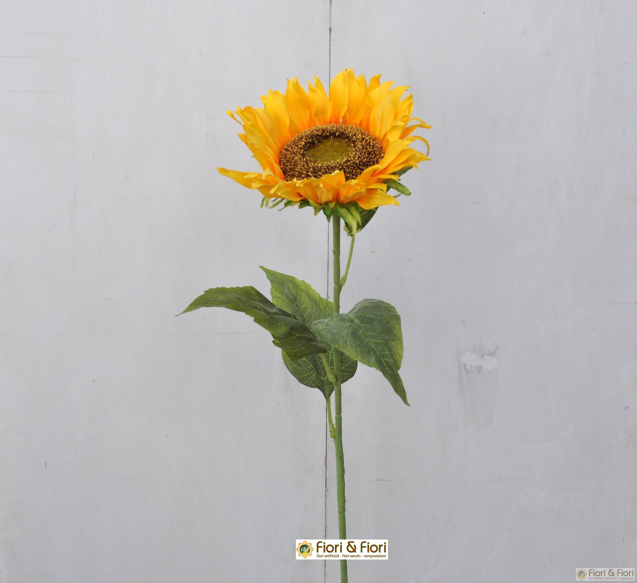 Fiore artificiale Girasole maxi singolo