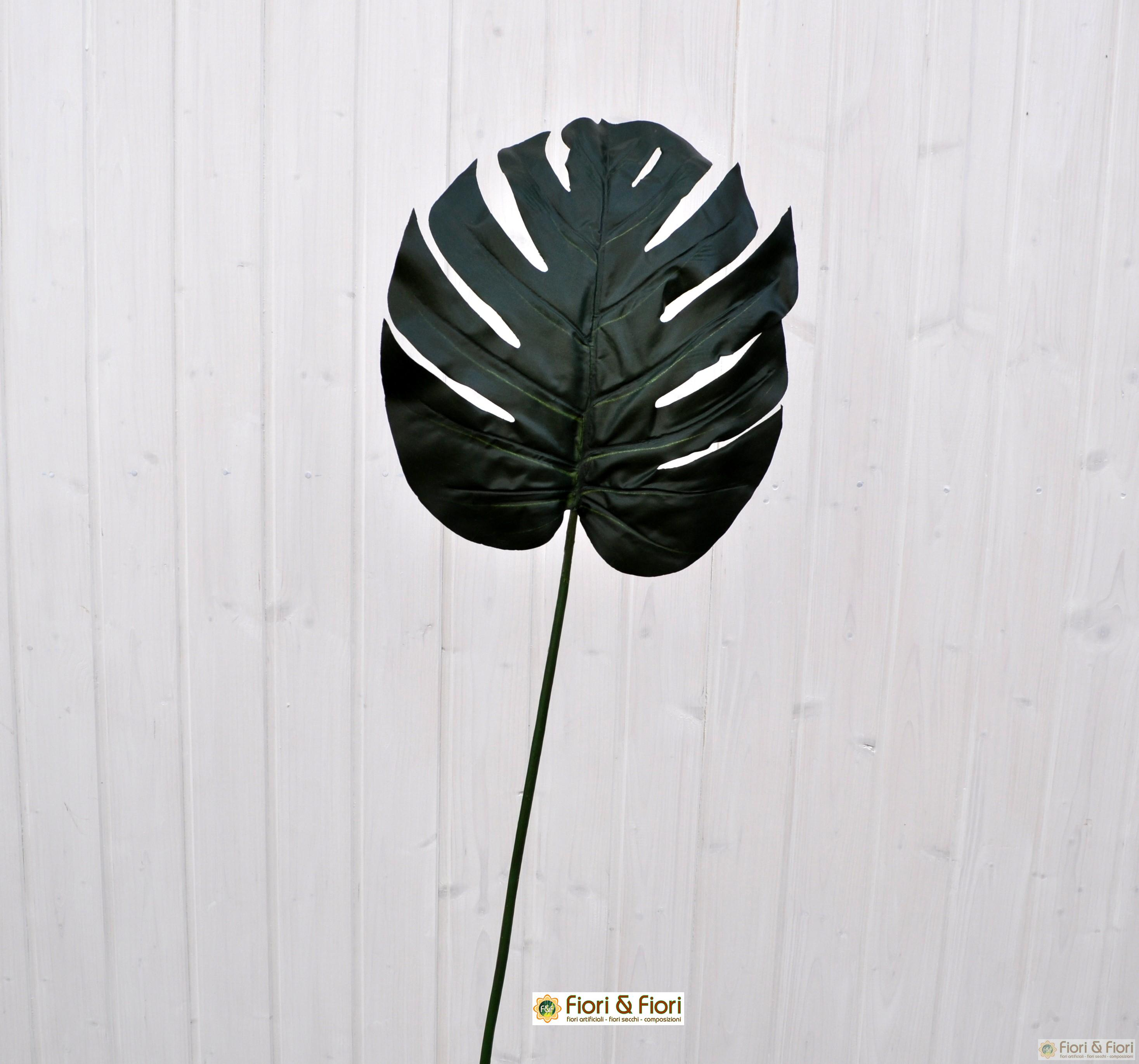 Foglia philodendron artificiale