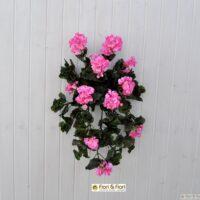Pianta artificiale di Geranio cadente maxi rosa