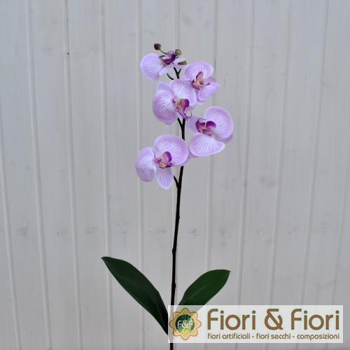 Fiore finto di orchidea phalaenopsis amabilis bianca for Orchidea finta