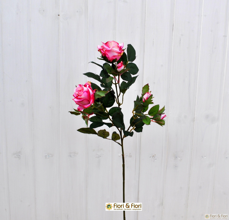 Fiore artificiale rosa carinzia rosa