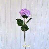Fiore artificiale ortensia alice lilla