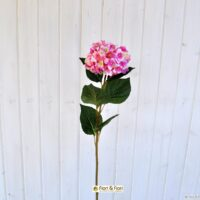 Fiore artificiale ortensia alice rosa