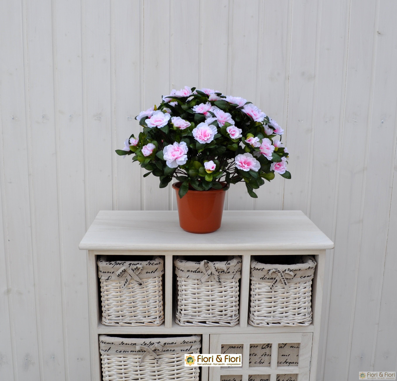 Pianta di azalea artificiale sia da interno che esterno for Rosa pianta