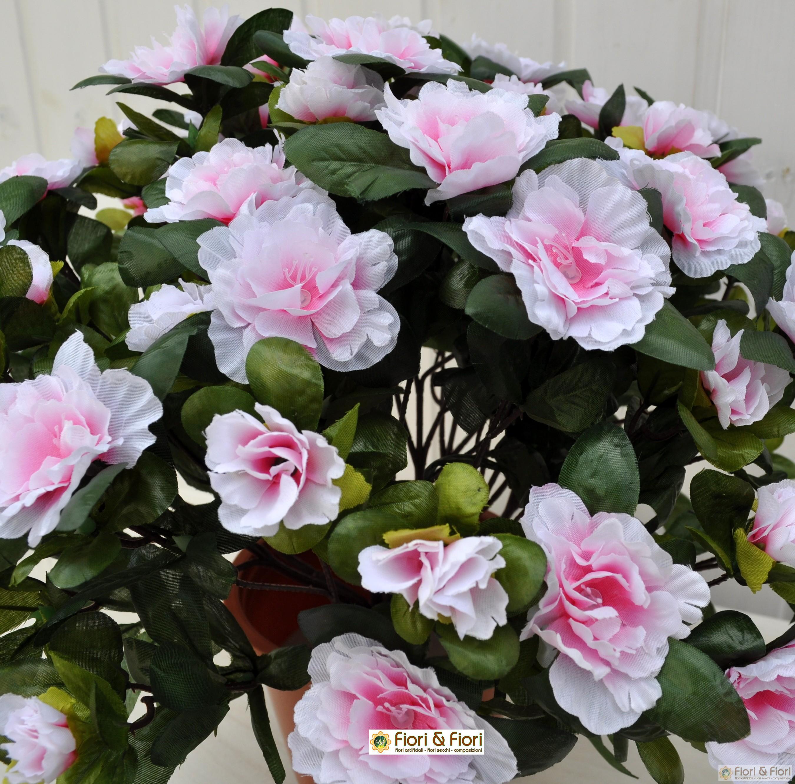 Pianta di azalea artificiale sia da interno che esterno - Azalea pianta da interno o esterno ...