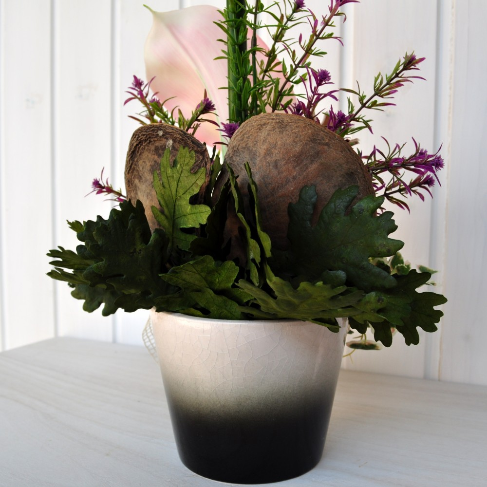 Composizioni fiori finti julienne per decorazioni di - Decorazioni fiori finti ...