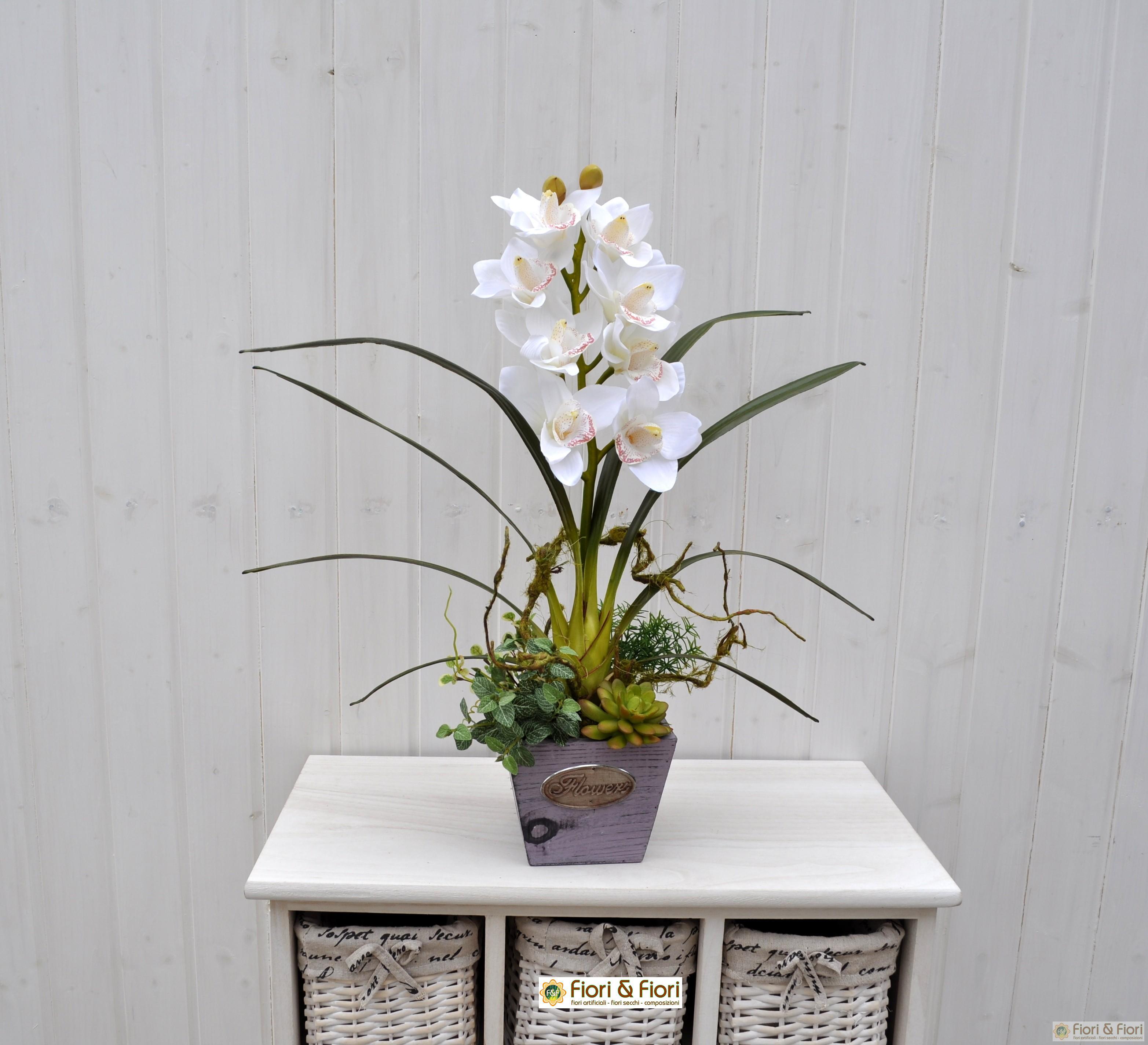 Composizione di fiori artificiali Joanne