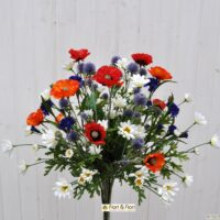 bouquet fiori artificiali summer time