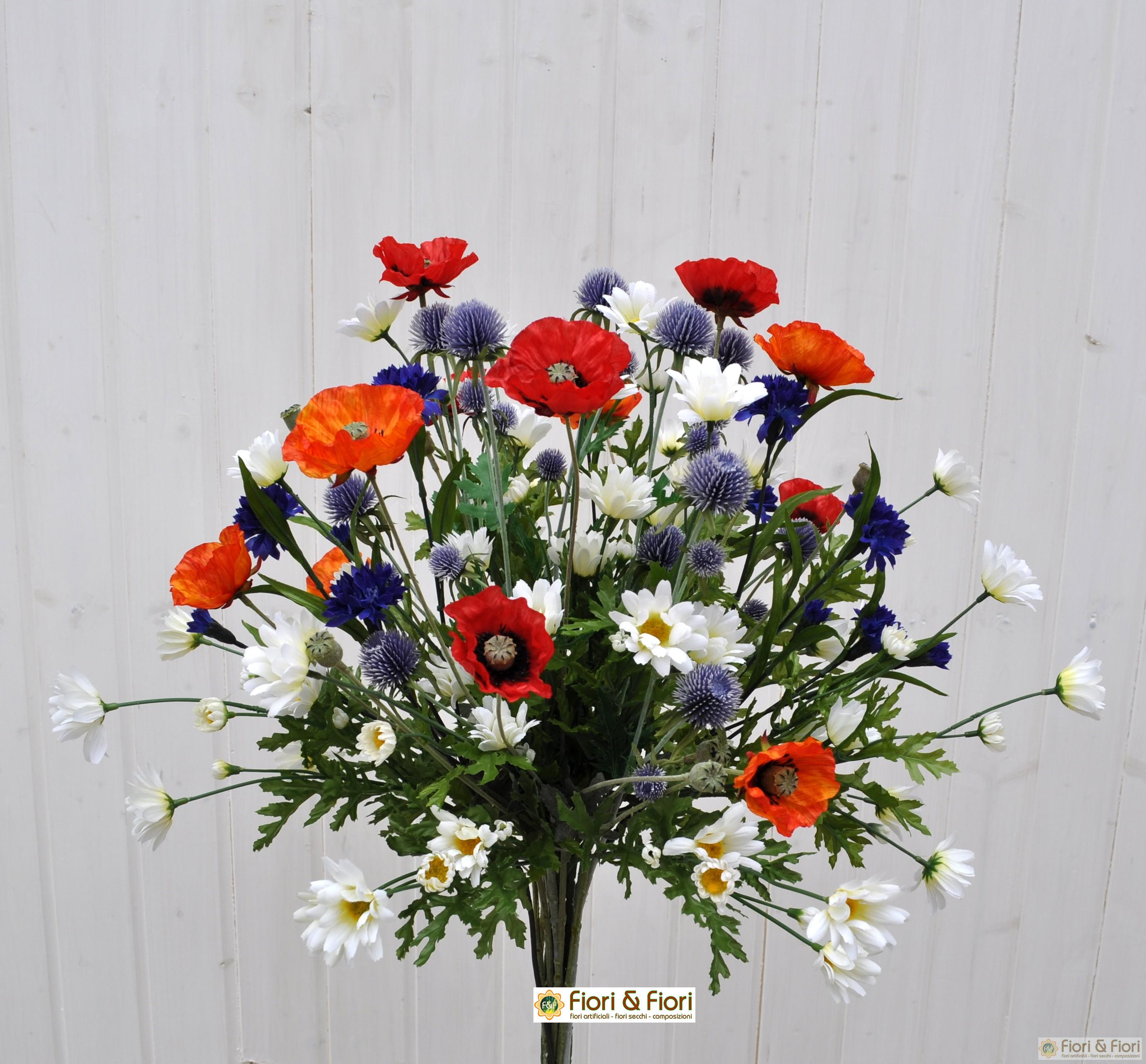 Bouquet fiori artificiali summer time per arredamenti di for Fiori artificiali