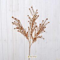 Fiore artificiale asparagus oro