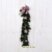 decorazione fiori artificiali decoro noel