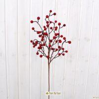 Fiore artificiale bacche rosse