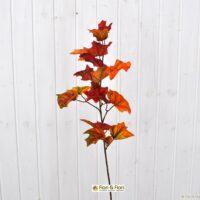 Foglia artificiale quercia arancio