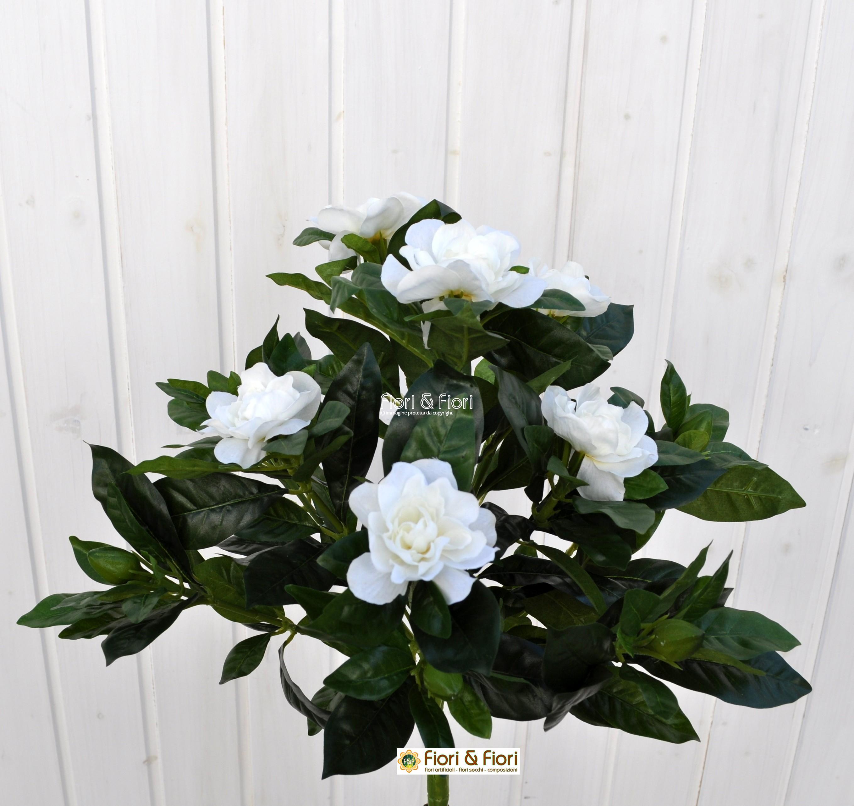 Gardenia artificiale bianca