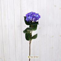 Fiore artificiale ortensia alice blù