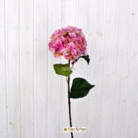 Ortensia arborescens artificiale rosa