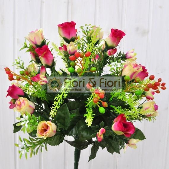 Pin fiori artificiali qualita per composizioni floreali for Fiori artificiali