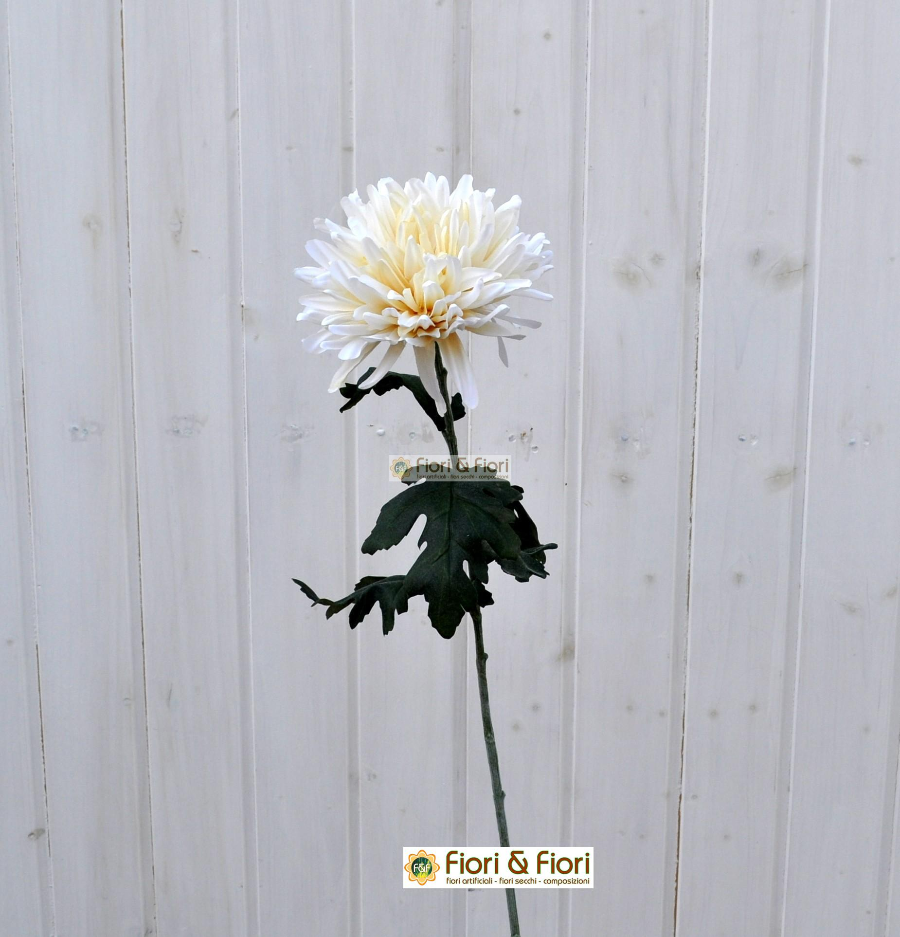 Vendita dalia artificiale bianca in tessuto di qualit - Dalia pianta ...