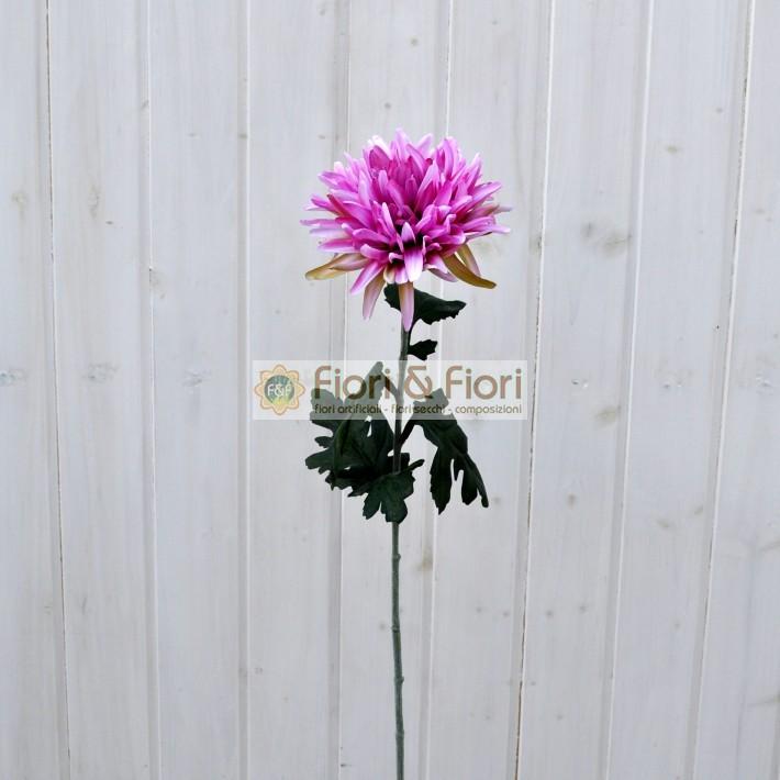 Dalia artificiale lilla fiori fiori - Dalia pianta ...