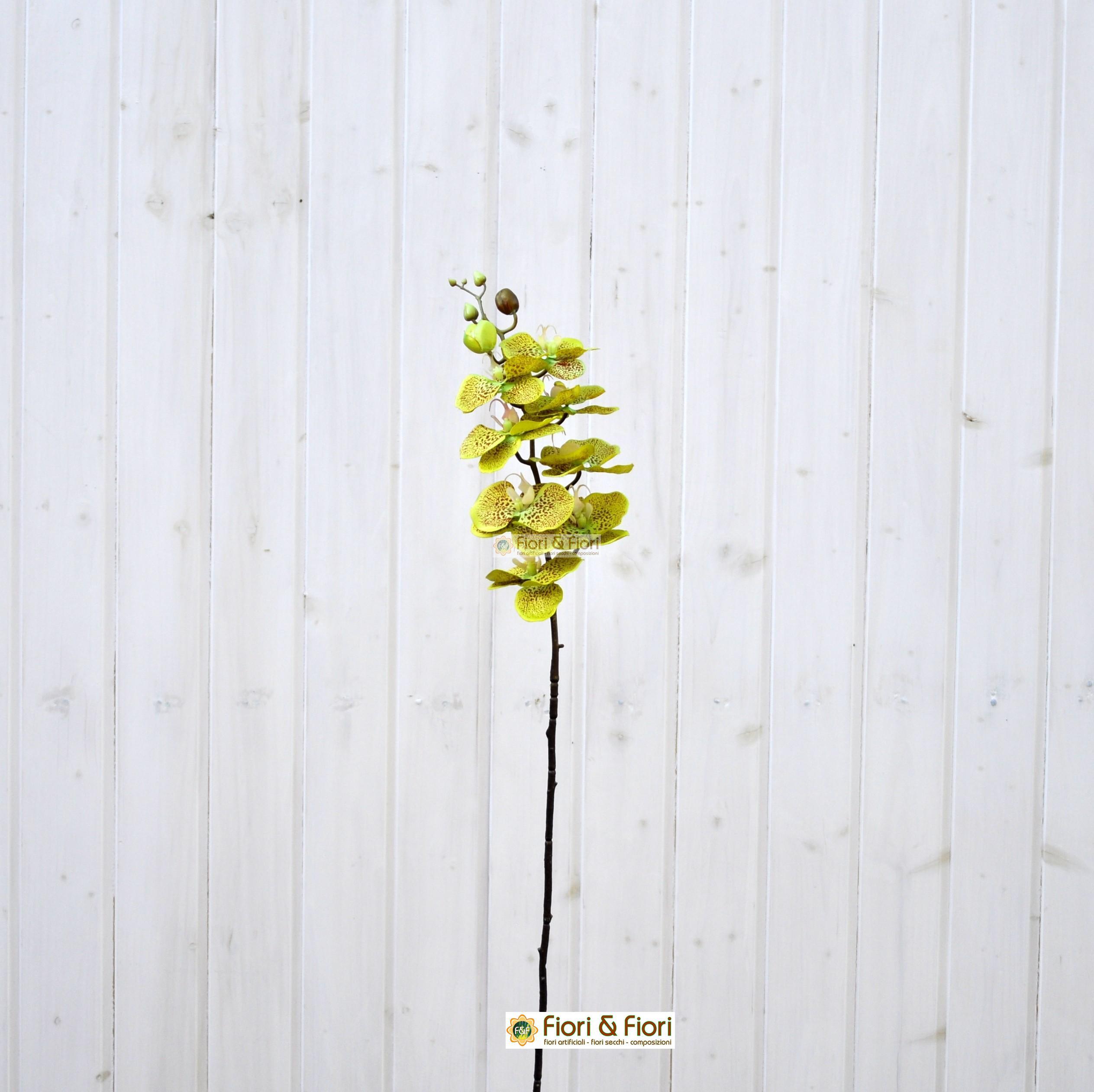 Orchidea phalaenopsis artificiale per bouquet di fiori finti for Orchidea finta