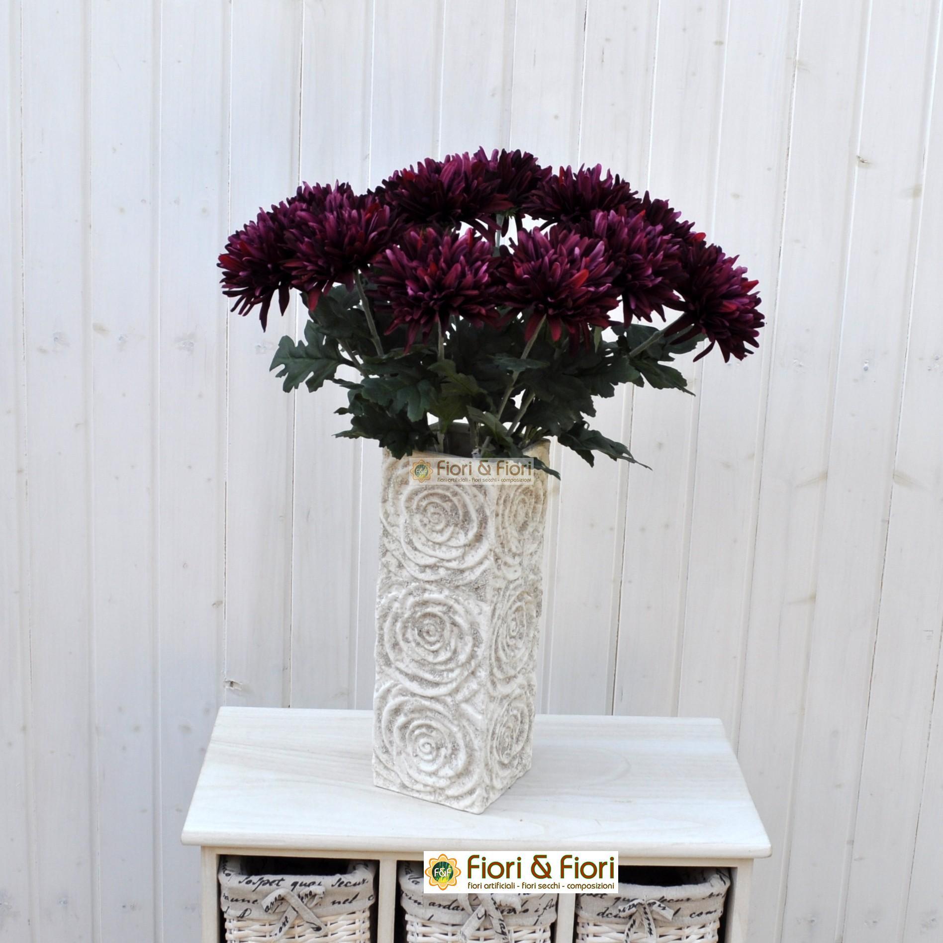 Dalia artificiale viola - Dalia pianta ...