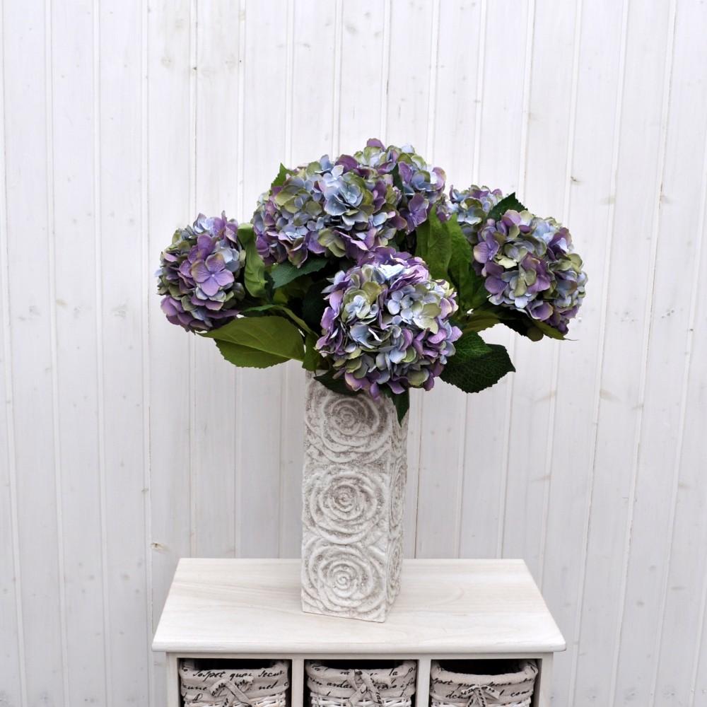 Ortensia macrophylla bl in tessuto di qualit fiori fiori - Ortensia blu ...
