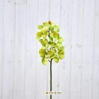 Orchidea artificiale cymbidium verde