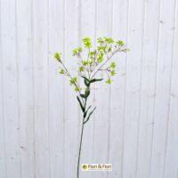 Fiore artificiale gypsophila spray verde