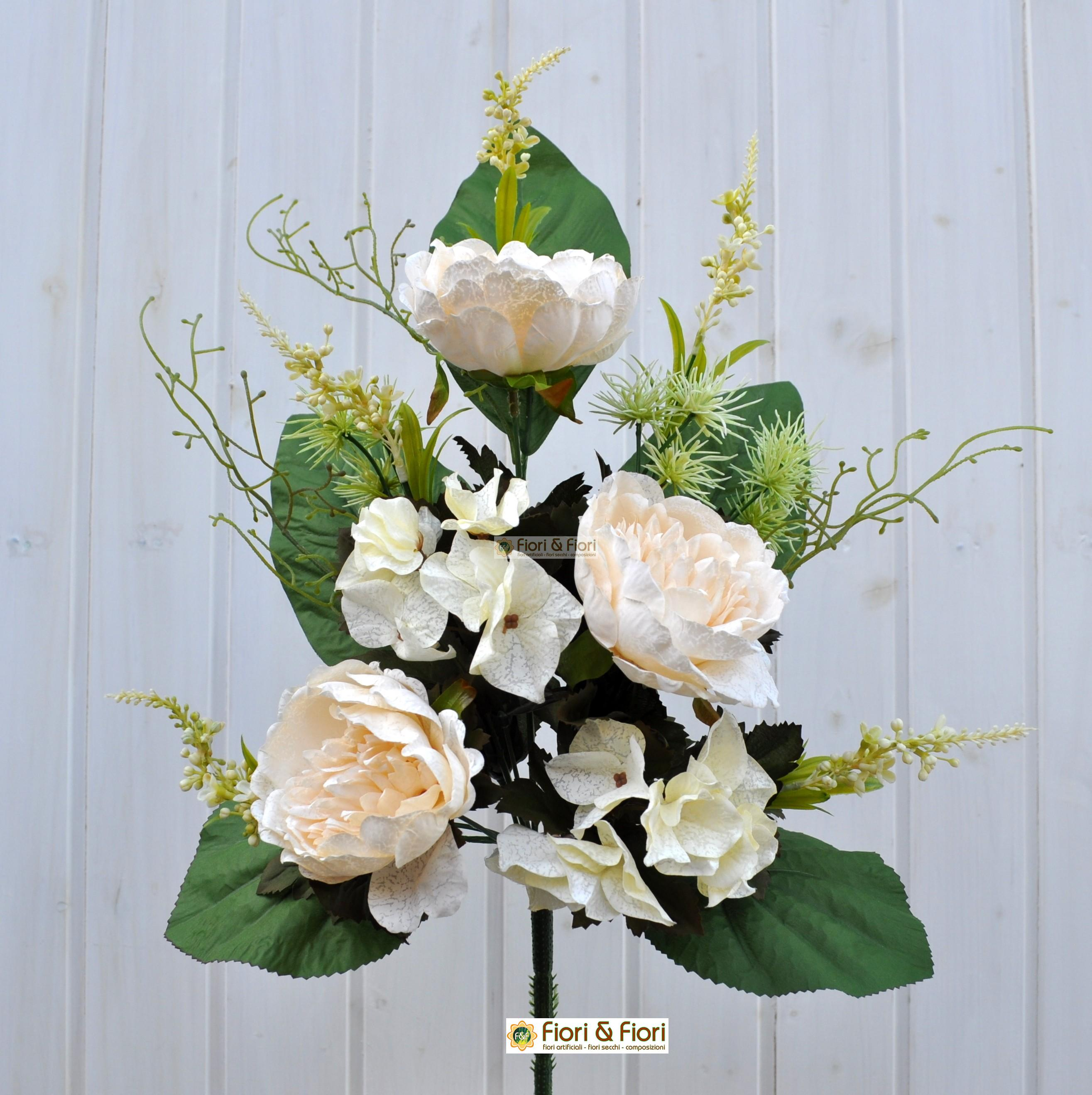 Composizioni fiori artificiali per cimitero yd43 for Fiori artificiali