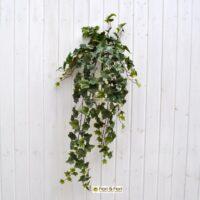 Pianta artificiale edera real touch verde