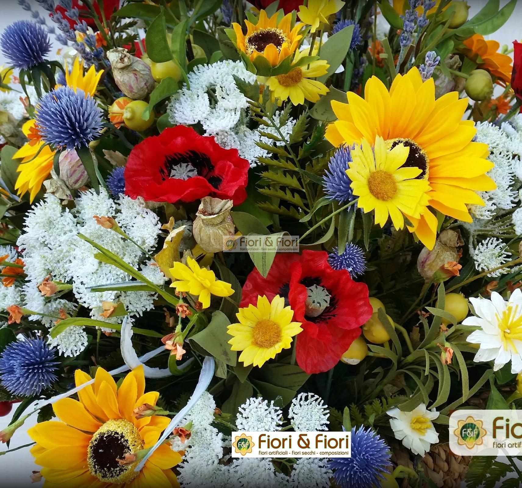 Pulire i fiori artificiali