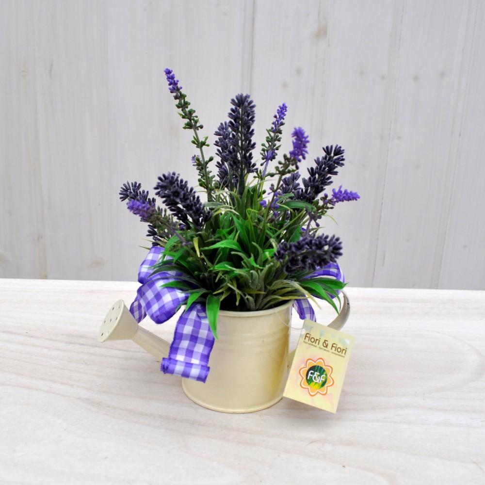 composizione fiori artificiali lavanda per arredamenti