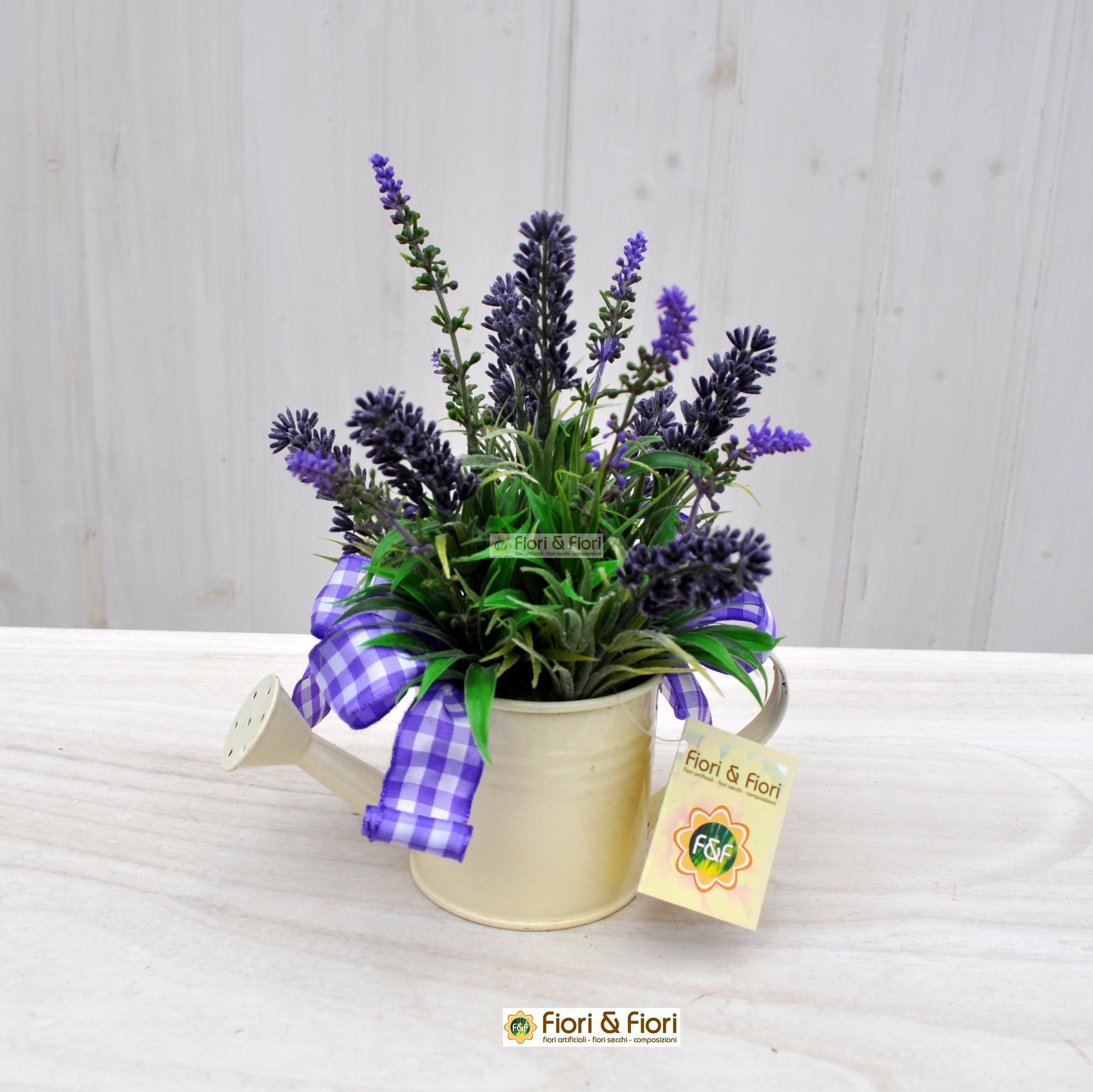 Composizione fiori artificiali lavanda per arredamenti for Fiori di lavanda