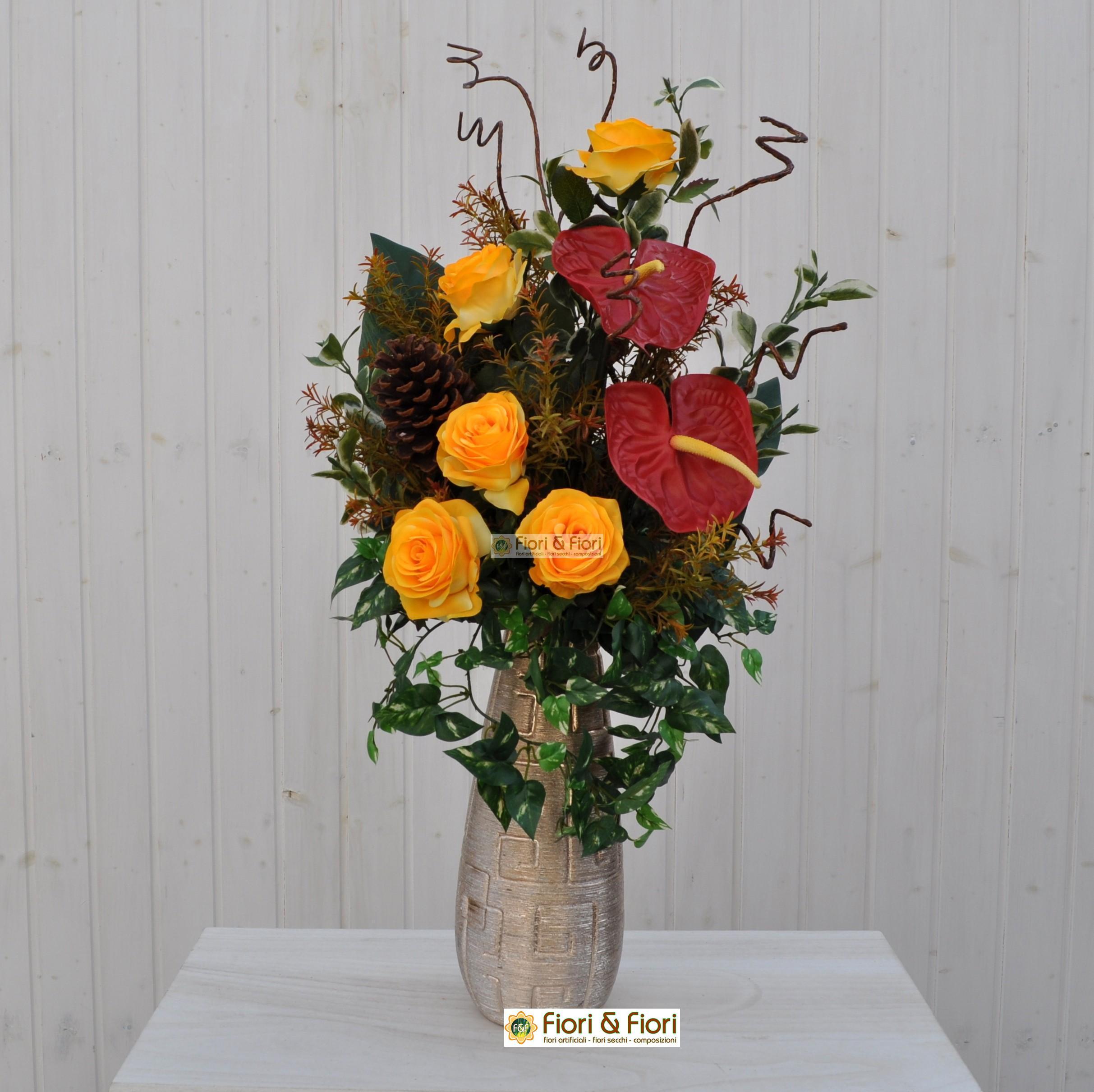 composizioni floreali artificiali vendita online