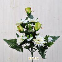 Bouquet Gerbera artificiale verde