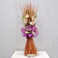 Decorazione fiori artificiali Colèt fucsia