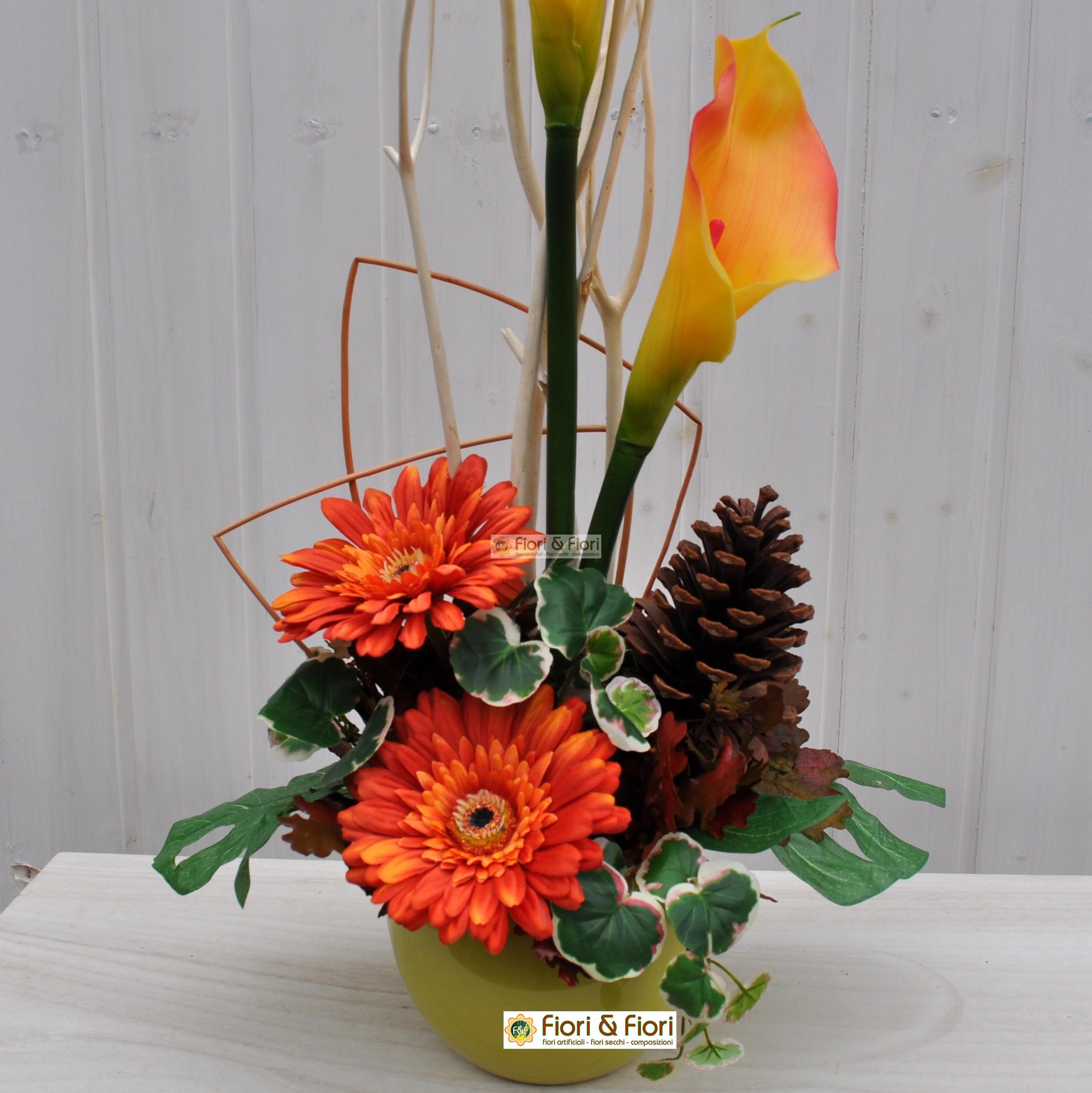 Composizione fiori artificiali marit per ambienti for Fiori artificiali
