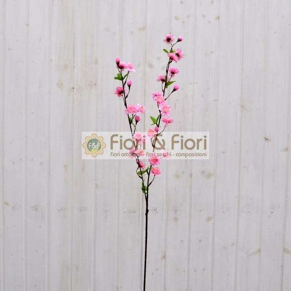 Fiore di pesco artificiale rosa