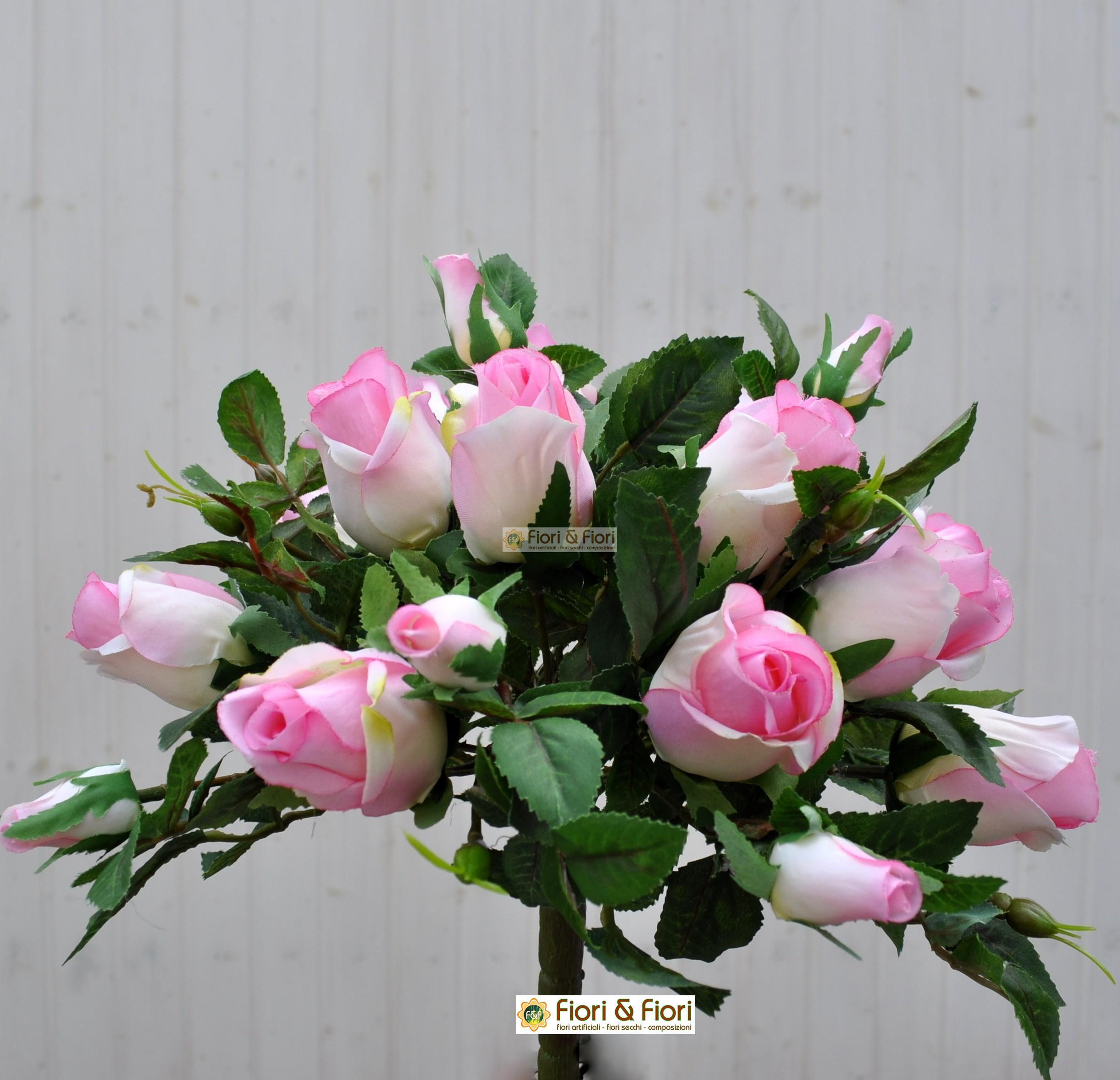 fiori artificiali rose