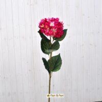 Fiore artificiale Ortensia alice fucsia