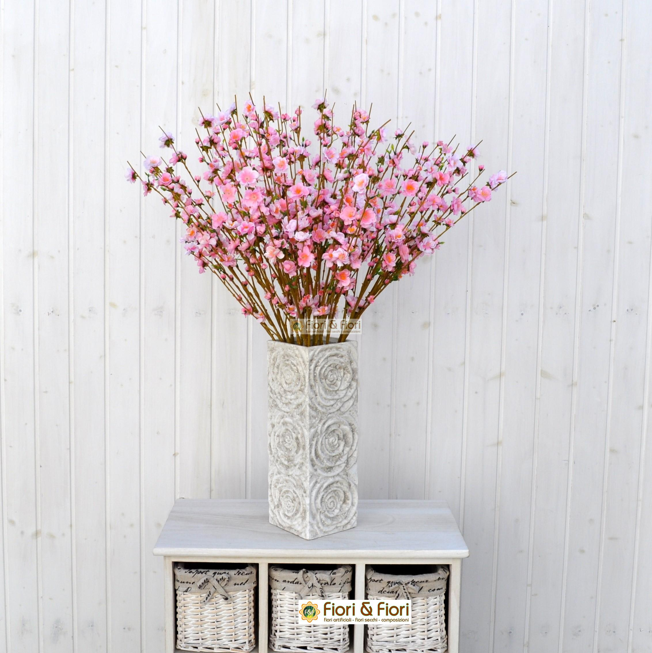Rami Di Pesco Finti fiore di pesco rosa