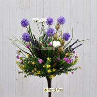 Bouquet fiori artificiali Tirolo viola