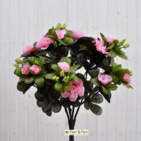 Azalea artificiale rosa