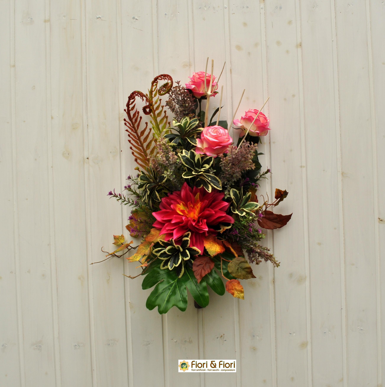 Bouquet fiori artificiali laguna per cimitero e luoghi sacri for Fiori artificiali