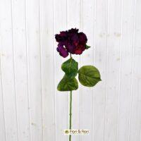 Fiore artificiale Ortensia fucsia