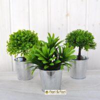 Set piante artificiali bosso